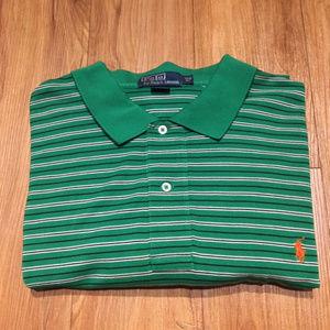 Polo by Ralph Lauren Green Stripe Polo 3XL Big
